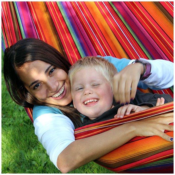 Kvalitets Stof hængekøje til børns leg og tumleri