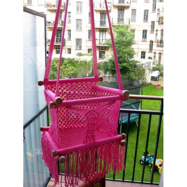 Lille Prinsens Baby Hængestol i Pink